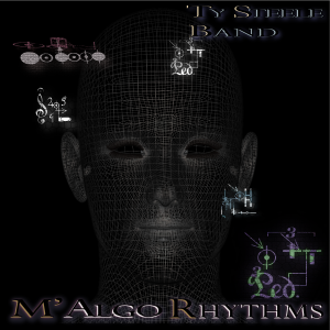 M'AlgoRhythms CD package cover (2018) - Front